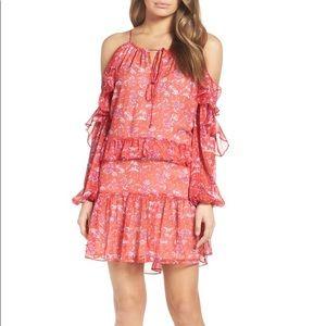 Adelyn Rae Cold Shoulder Dress